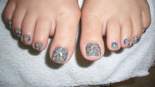 Polka dot minx toes nail art gallery polka dot minx toes prinsesfo Image collections