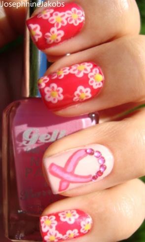 Daisies and Pink Ribbon BCAM