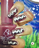 Drag Marbelling Nail Art