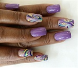 Lavender Love ..Joy of Nails by Joy
