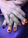 Halloween Orange And Black
