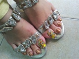 Idia Torress feet