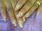 orange tip green flowers
