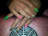 Neon Gel Nails