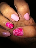Pinky Water Marble (Right)