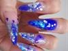 Very blue!
