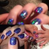 Dark Blue Glitter Holo ❤️sparkly❤️