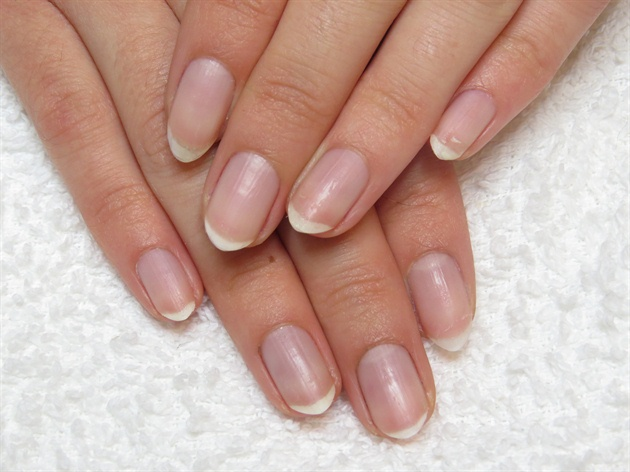 Begin with clean and prepped, natural nails.