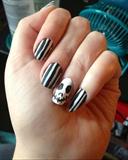 Matte Halloween Nails