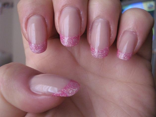 Укрепление ногтей гелем с дизайном фото