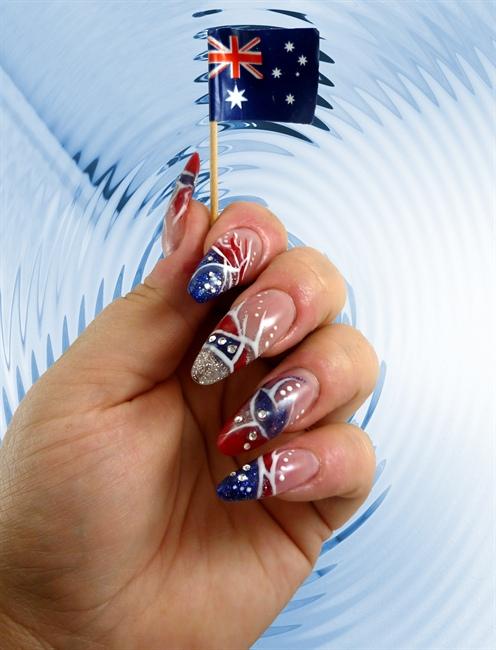 Australia Day Nails 2011 Nail Art Gallery