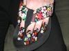 Sandal Flower Power