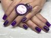 Purple, Ombré And Short