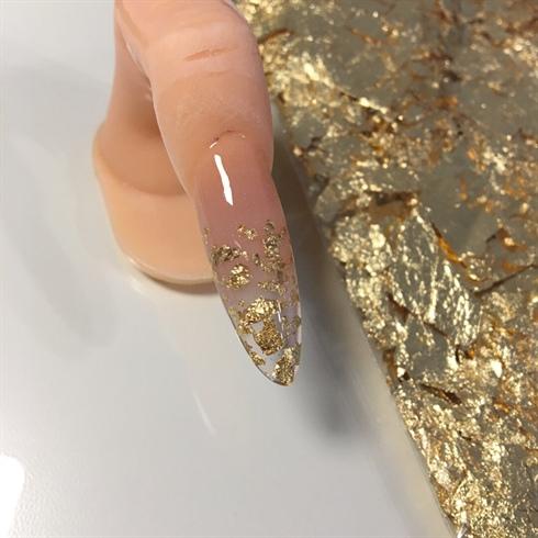 Gold Foil Nail