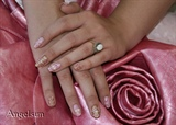 Summer Glam Nail Art