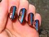 ethnic nail art