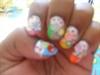 Fimo nail art design