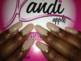 Kandi Apple Nails