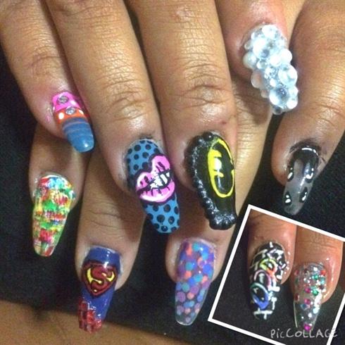 Mix'n'match Nails