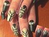 Matte Tribal Nails