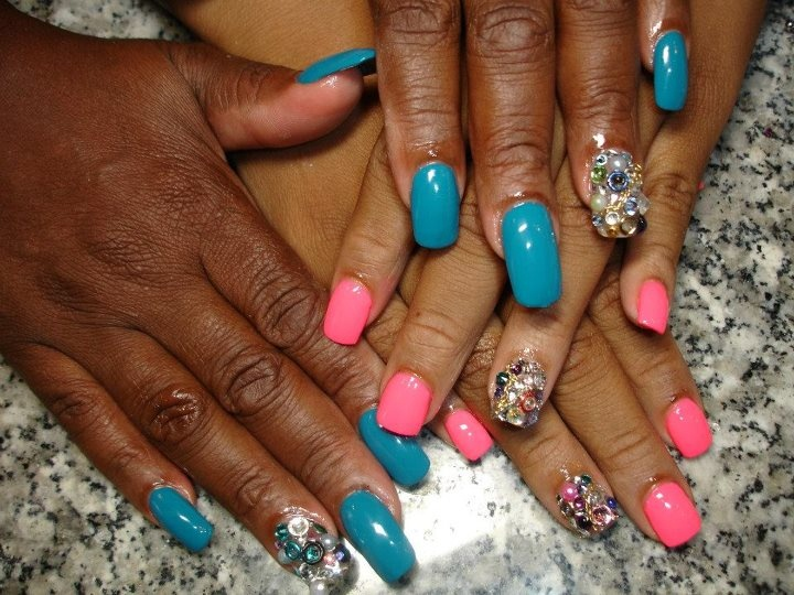 Junk nails - Nail Art Gallery