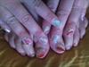 manicure arc en ciel (main + pied)