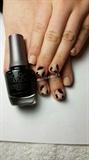 abstract nail art