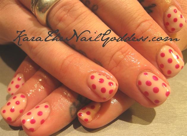 gel polka dots
