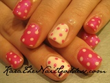 Gel Polish Polka Dots