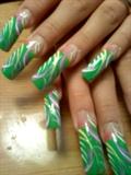 Fun green french