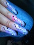 kc's purple nails