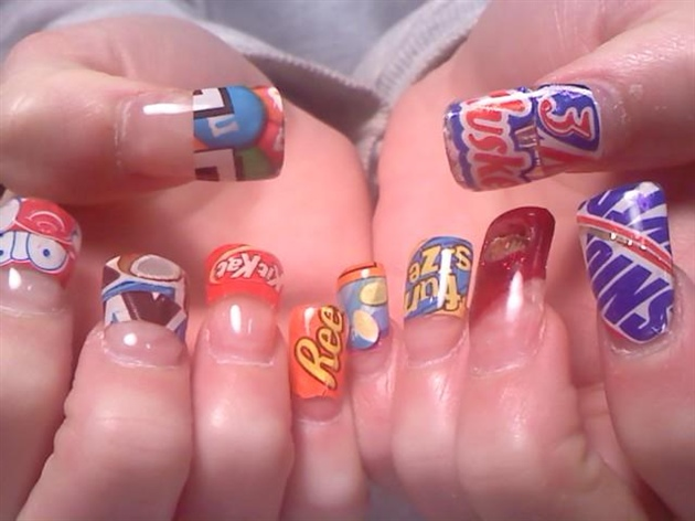 the candy shop - The Candy Shop - Nail Art Gallery