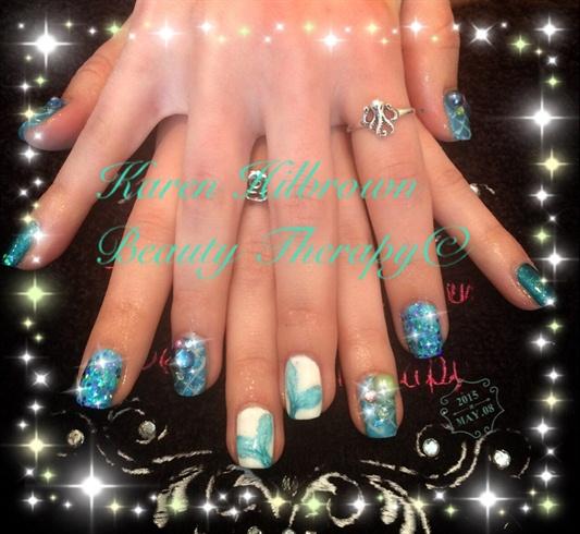 Mermaid Nails Xx