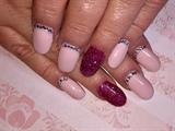 Glittery Pink