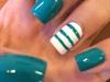 Teal Nails!