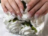 Bridal Ombré Glitter Fade