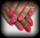 Natural Nails Gel Polish In Pink