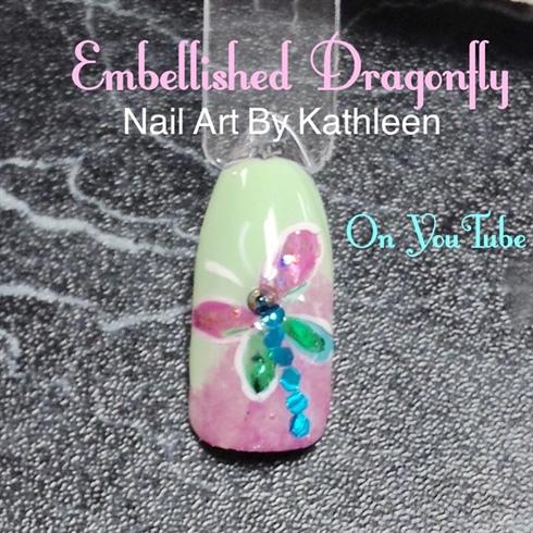 Embellished Dragonfly