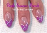Purple Summer French