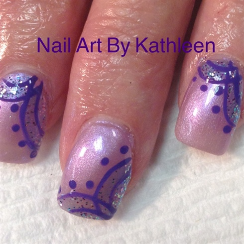 Purple Lace Design
