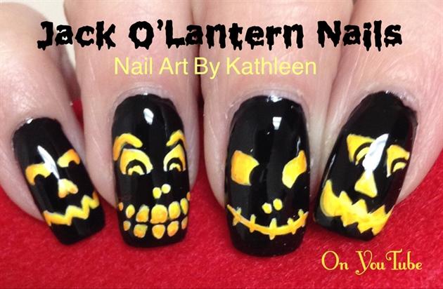 Jack O'Lantern Nails