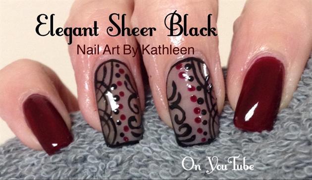 Elegant Sheer Black