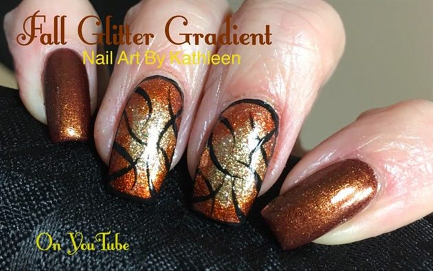 Fall Glitter Gradient