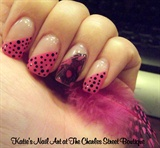 Polka Dot Feathers