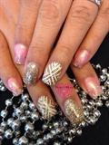 GlitterGraphic Accent Nail