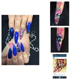 Graphic Art Nails