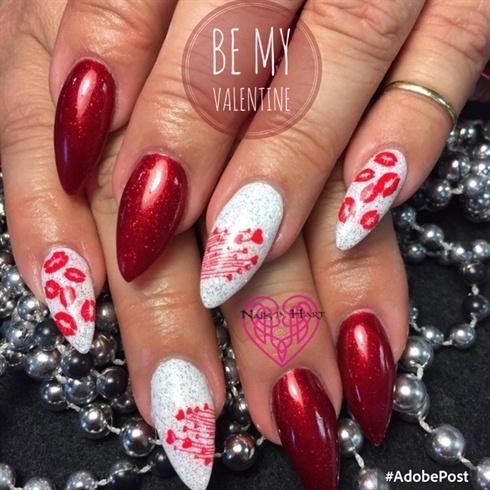 Valentine Almond Hearts & Kisses