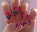 Valentine nails....