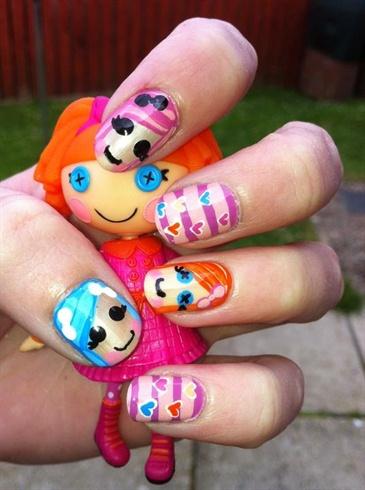 Lalaloopsy Nails!! =D