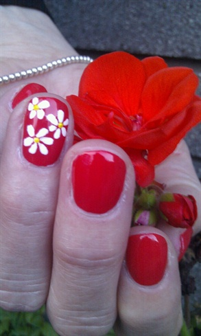 Easy summer nails! ;)